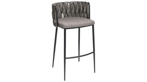 chaise de bar grise achetez votre chaise de bar grise simili cuir cheerio pas