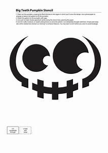 big, teeth, pumpkin, stencil, printable, pdf, download