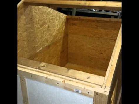 hundehütte selber bauen flachdach hundeh 252 tte selber bauen teil 1
