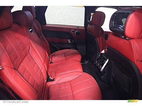 burgundy range rover interior 2014 range rover autobiography red interior www pixshark