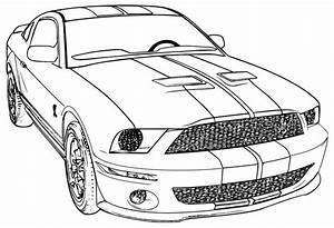 mustang cool cars to color 14739 bestofcoloringcom With mustang wallpaper