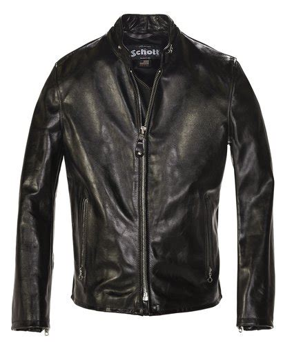 Cowhide Leather Jacket by Cowhide Casual Racer Leather Jacket 654