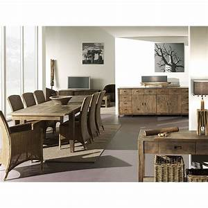 Meuble Tv Ethnique : meuble tv en bois exotique tendance design teck felix ~ Teatrodelosmanantiales.com Idées de Décoration