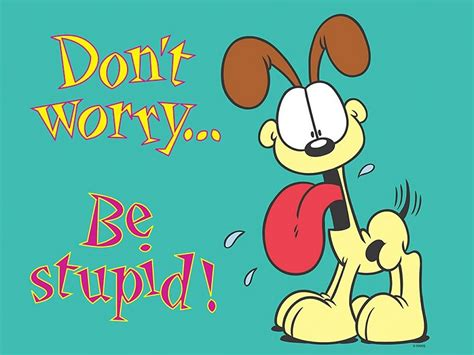 wallpapers cartoons wallpaper odie dont