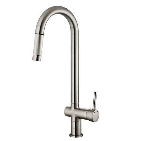 vigo kitchen faucets vigo gramercy single handle pull kitchen faucet
