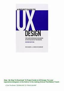 A Project Guide To Ux Design 2nd Edition Pdf Download