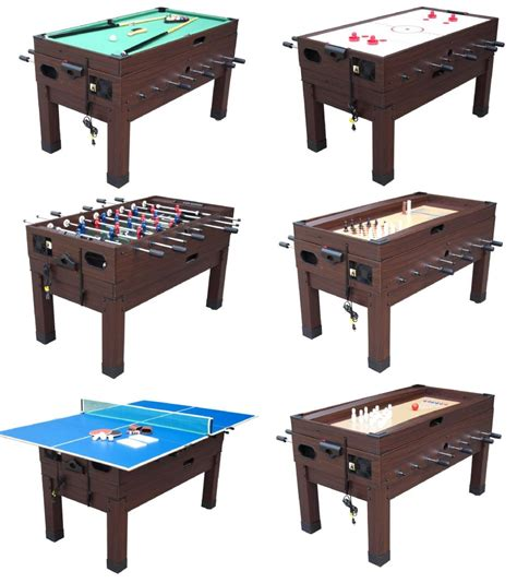 foosball air hockey combo table 13 in 1 combination game table in espresso berner billiards