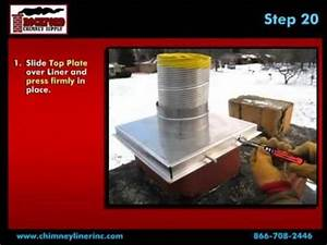 How to Install a Flexible Chimney Liner Kit with Blanket ...