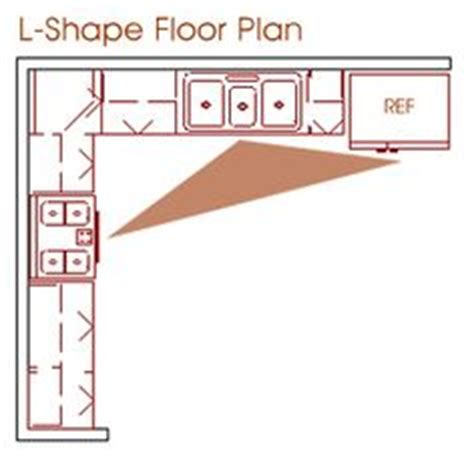 l shaped kitchen floor plan ideas building remodel ideas on kitchen layouts