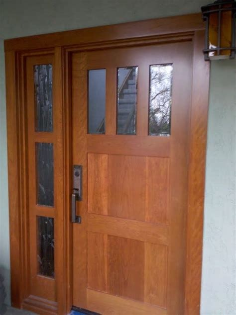 Hand Made Custom Solid Wood Interior And Exterior Doors By