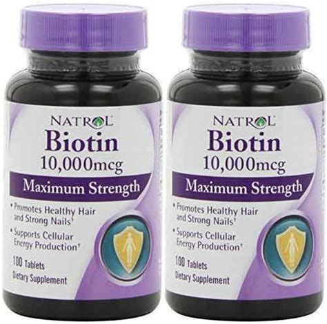 Biotin For Hair Growth, Loss, How Much, Does It Work