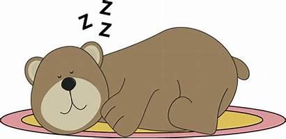 Sleeping Bear Rug Clip Snoring Brown Mycutegraphics