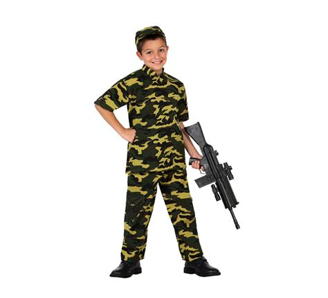 disfraz para ni 241 os de soldado camuflaje talla 7 a 9 a 241 os disfrazzes tienda de disfraces