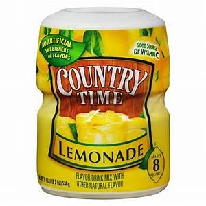 Country Time Drink Mix Powder Lemonade Walgreens
