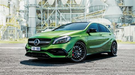 We will be getting the beefiest offering which means you can sprint to 100 km/h. 2016 Mercedes Benz A Class A45 AMG 4Matic Wallpaper | HD Car Wallpapers | ID #6434