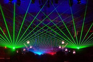Dozens of ravers blinded at Moscow party by laser light