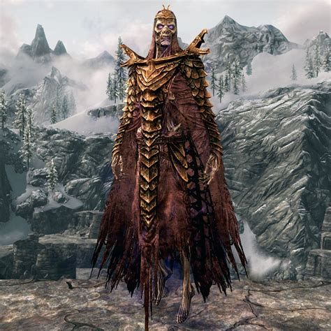 Skyrim Dragon Priest Armor Best Gear Tier The Elder