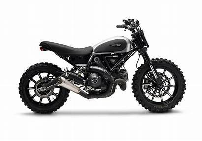 Scrambler Ducati Dirt Tracker Gessato Scramblers Bikebrewers