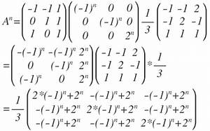 Basis Berechnen : matrix potenzieren allgemeine formel f r a n basis aus eigenvektoren mathelounge ~ Themetempest.com Abrechnung