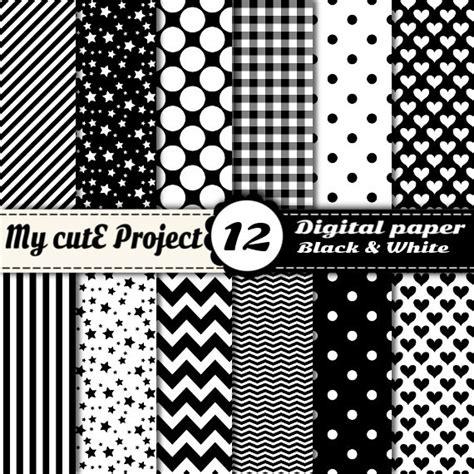 papier digital noir et blanc scrapbooking graphisme
