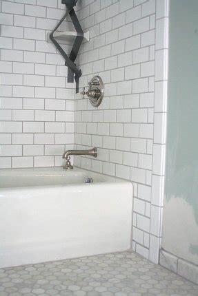 kitchen white tiles grey grout hexagon tile backsplash foter 8731
