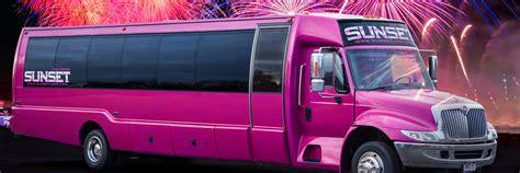 denver limo rental limo service sunset luxury limousines
