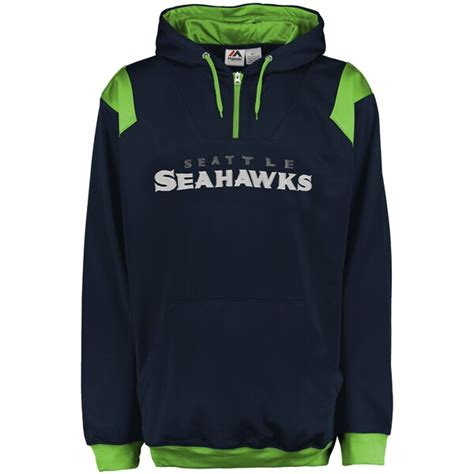 mens seattle seahawks majestic college navy big tall