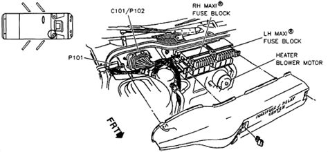 92 Mustang Heater Blower Wire Diagram by I A 1996 Olds 88 The Interior Heater Fan Sometimes
