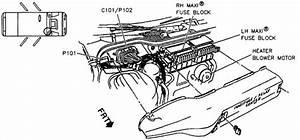Service Manual  How To Replace 1996 Oldsmobile Achieva Blend Door Actuator