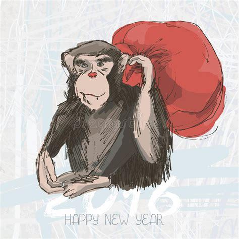 chimpanzee drawing vector animal artistic drawing  bag