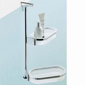 Etagere douche universelle gipsy colombo design for Etagere porte savon pour douche