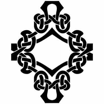 Celtic Knot Diamond Sticker 2692