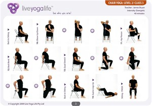 yoga for seniors chair yoga and at bristol on pinterest