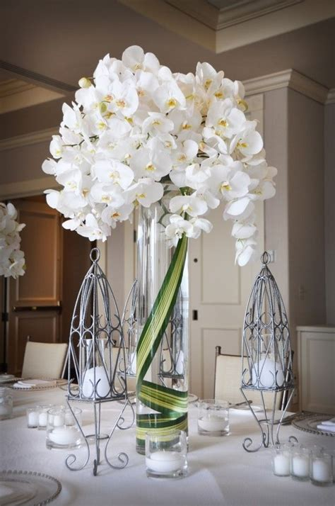Best Images About Centerpieces White Pinterest