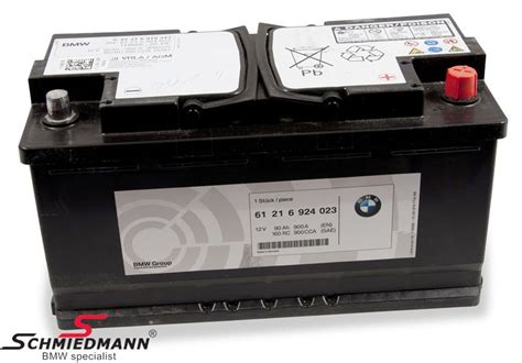 Bmw X5 Battery Cost by Agm Battery Original Bmw 90ah