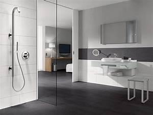 Badezimmer Grau Weiß : einrichtungsideen k che ~ Markanthonyermac.com Haus und Dekorationen