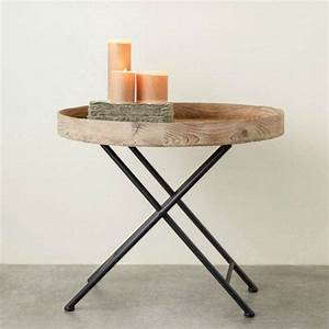 round folding wooden tray table trays rounding and antiqu With round metal tray coffee table