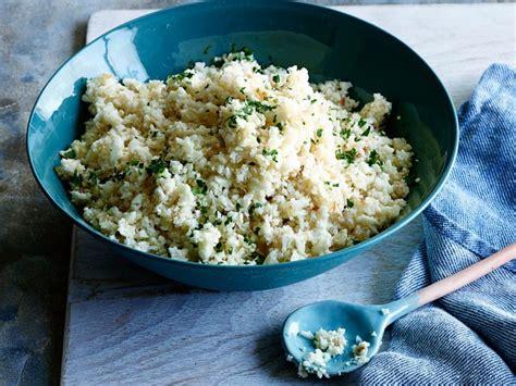 healthy cauliflower rice recipe food network kitchen