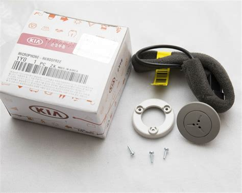 bluetooth hands  mic assembly  kia picanto