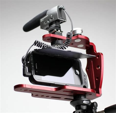 iphone rig diffcage photography and cinema rig for iphone 4 4s review