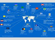 Map of Micronations Daily Infographics