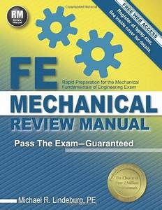 Cheapest Copy Of Fe Mechanical Review Manual By Michael R