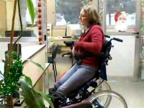 fauteuil roulant manuel avec verticalisation 233 lectrique hi l