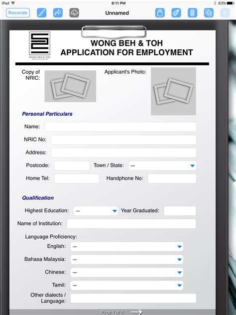 What Does Firm On A Application firm uses the for the employment application