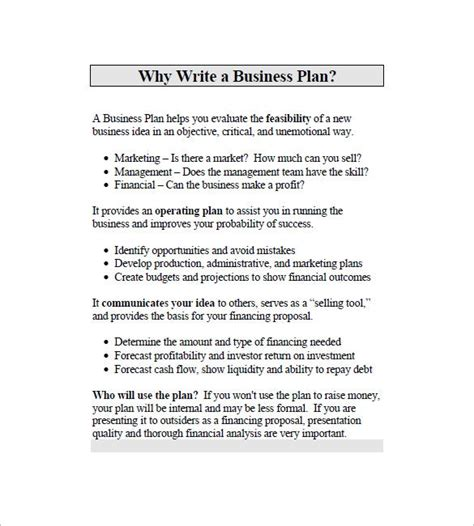 business marketing plan template   word excel