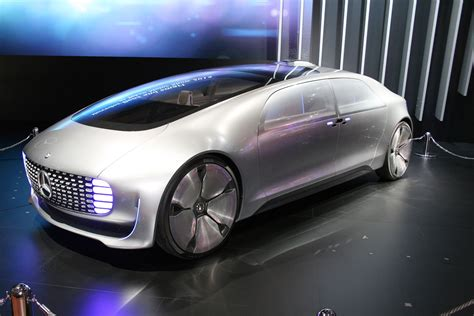 Mercedes BenzCar : Mercedes-benz Vision Tokyo Lounges About At The 2015 Tokyo