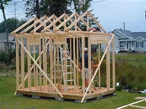 construire un cabanon constuire une cabane With construire un cabanon de jardin