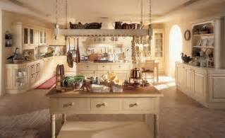 decor ideas for kitchens large rustic country style kitchen decoration with
