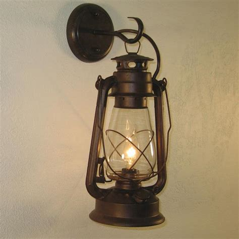 rustic sconces large rustic lantern wall sconce price