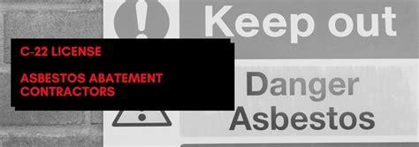 license asbestos abatement contractor digital
